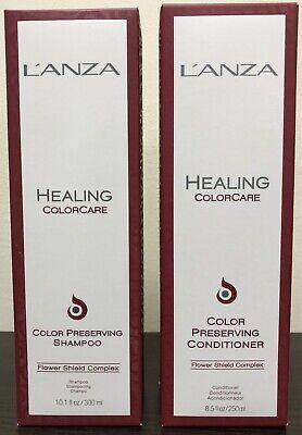 LANZA Healing Colorcare Color Preserving Shampoo 10.1oz + Conditioner -