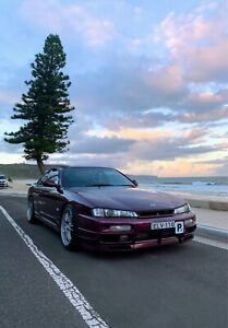 1997 Nissan 200SX S14 Luxury Spec Manual (LS1 Shiraz Purple)