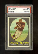 1958 Jim Brown PSA