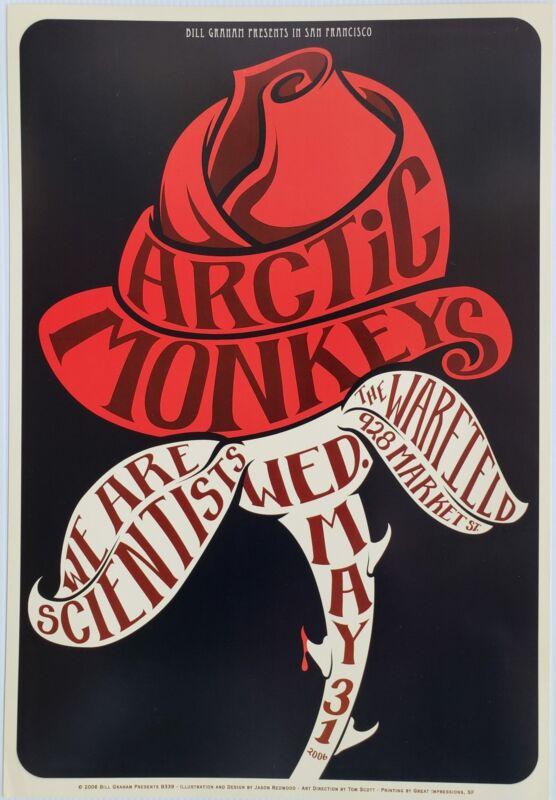 Arctic Monkeys Concert Poster 2006 BGP-339 Warfield
