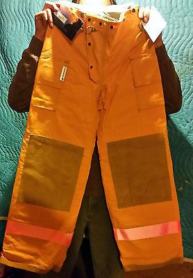 Sperian Morning Pride Firefighter Turnout Gear Pants 28w X30 Leg New Nos 2011