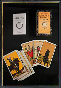 THE ORIGINAL RIDER WAITE TAROT CARDS & INSTRUCTION BOOKLET *NEW & SEALED*