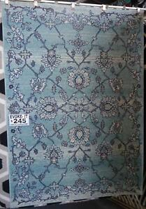 New Italtex Evoke 5190 Aqua Traditional Persian Style Rug Rugs