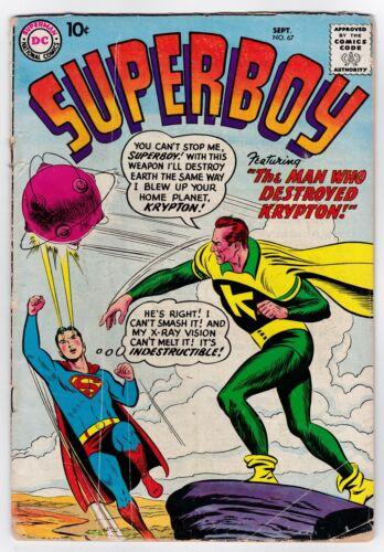 Superboy # 67 (1958)