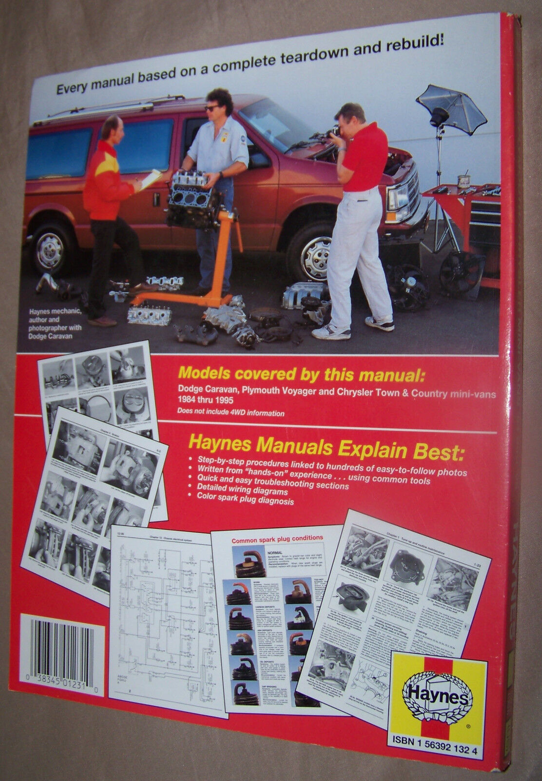 Used 1984 Dodge Caravan Other Parts For Sale 1982 Rampage Wiring Diagram Haynes Repair Manual Plymouth Voyager Chrysler Town Country