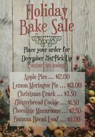 Holiday Baked Goods FOR SALE! (Delaney's Custom Catering)