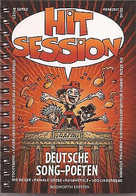 Gitarre Noten und Akkorde - HIT SESSION 7 - DEUTSCHE SONG-POETEN - 100 LIEDER