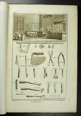 Usado, Fabricante de cinturón Girdler belt maker Diderot siglo XVIII 1767 folleto segunda mano  Embacar hacia Argentina