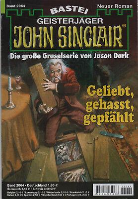 JOHN SINCLAIR ROMAN Nr. 2064 - Geliebt , gehasst , gepfählt - Michael Breuer NEU