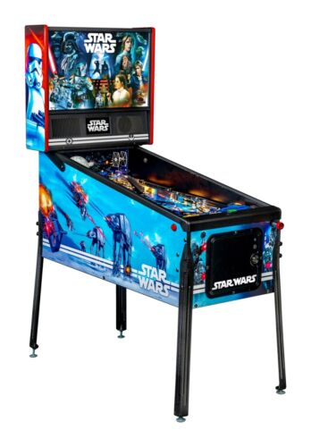 """NEW Stern Star Wars  """"The Pin""""   Pinball Machine Home Edition Ships October"""