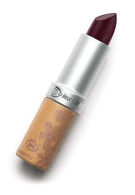 Farbe Karamell - Lippenstift matt Nr.124 bordeaux Bio