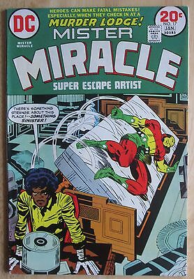 """DC Comics  """"Mister Miracle"""" # 17, Photos Show Great Condition"""