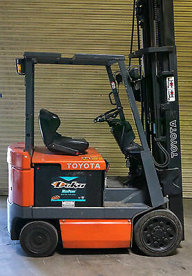 Toyota Electric Forklift Truck 4 Wheel