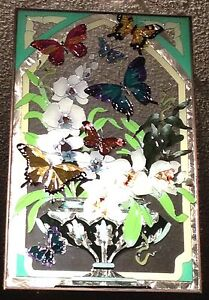 Stained glass hanging panel artwork picture
