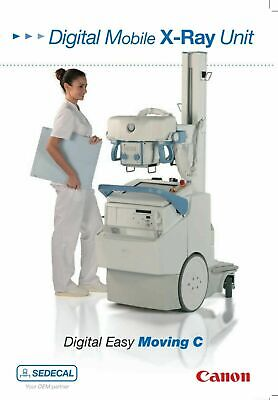Urgent Care Digital Mobile Xray Hospital Grade Portable X-ray Machine