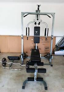 Complete home gym set gym fitness gumtree australia