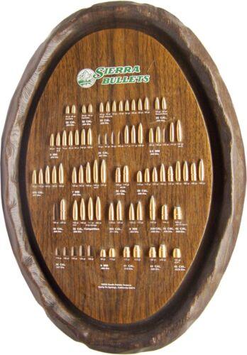 Good Looking Vintage SIERRA BULLETS Advertising Bullet Board