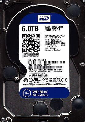 "New 2016/2017 WD BLUE WD60EZRZ 6TB Internal 3.5"" Desktop Hard Drive"
