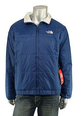 Men's North Face Blue Silver Reversible Jacket $275