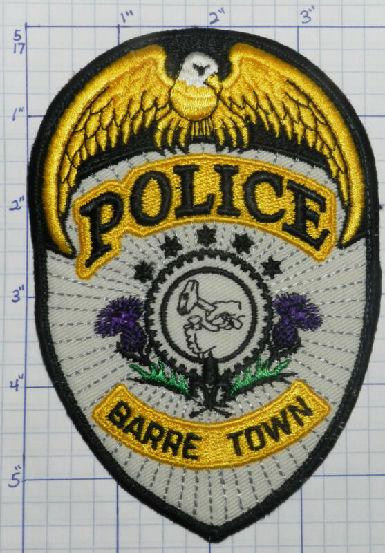 VERMONT, BARRE TOWN POLICE DEPT VERSION 4  PATCH