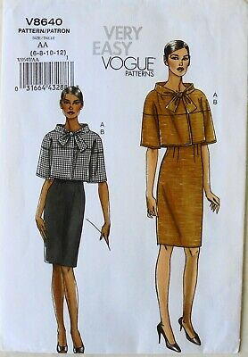 Vogue Very Easy 8640 Misses Jacket & Skirts Sewing Pattern Sz 6-12