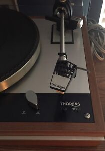 Thorens TD 160 record player