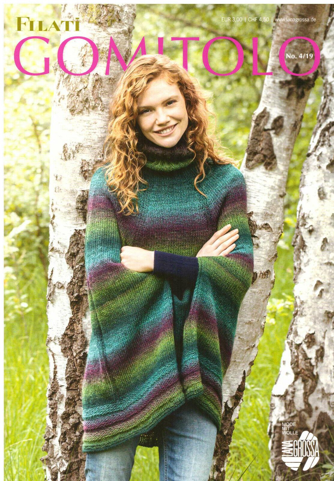 Lana Grossa GOMITOLO Ausgabe 3 Frühjahr//Sommer 2019 Wolle Kreativ