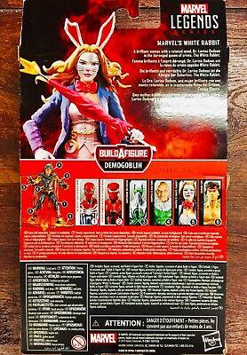 """Marvel Legends 6"""" WHITE RABBIT action figure (Demogoblin BAF)"""