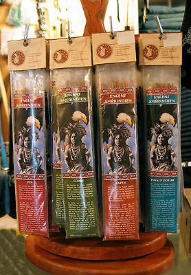 Encens Indien Huron chèvrefeuille 100% naturel Canada