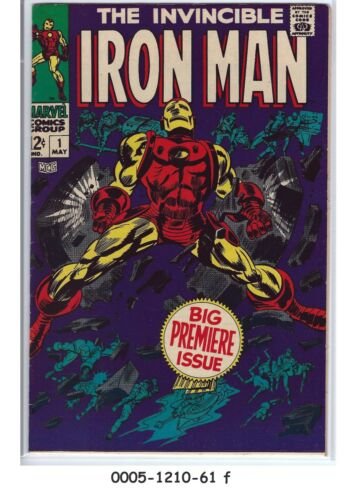 Iron Man #1 (May 1968, Marvel)