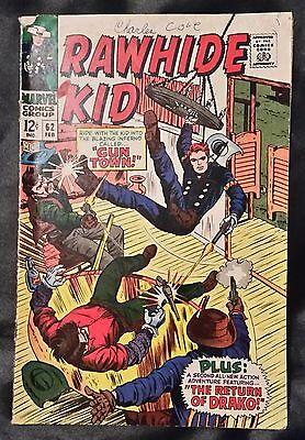 RAWHIDE KID NO. 62 - MARVEL COMICS - FEBRUARY 1968