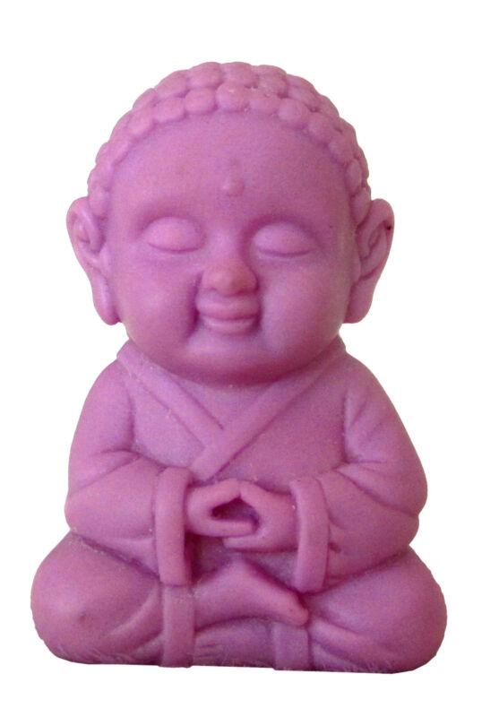 Pocket Buddha Wisdom Purple Buddhism Figurine Toy