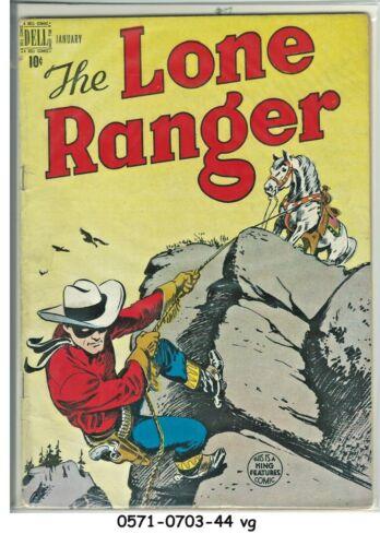 Lone Ranger #7 © January 1949 Dell