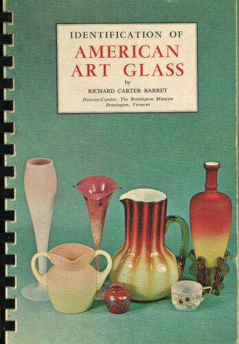 American Art Glass ID- Burmese Amberina Aurene Peachblow Etc. / Illustrated Book