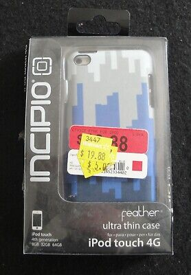 INCIPIO - IPOD TOUCH 4G - FEATHER ULTRA THIN CASE - #WM-IP-026    C88 Incipio Ipod Touch