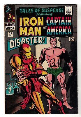 Marvel comics Tales of suspense 79 Origin Cosmic Cube cover FN- 5.5