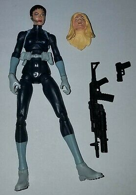 "Marvel Legends SHARON CARTER/ MARIA HILL 6""  Action Figure Hasbro 2009 2 Pack"