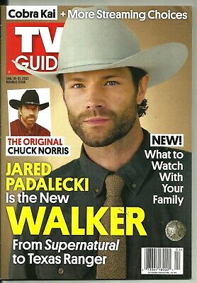 TV GUIDE-1/2021-JARED PADALECKI-WALKER-NO MAILING LABEL