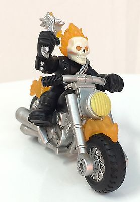 Marvel Super Hero Squad Complete Wave 18: GHOST RIDER & FLAME CYCLE Motorcycle