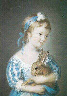 Postcard The Hon Henrietta Rice by John Russell [ Medici Society ]