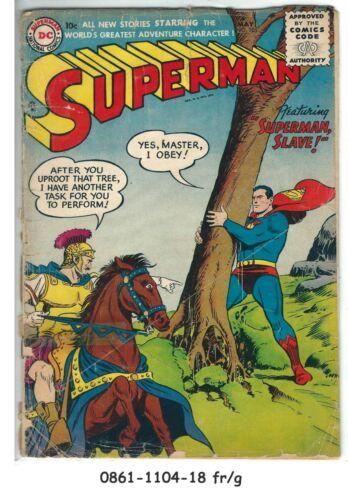 Superman #105 © May 1956, DC Comics