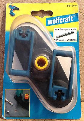 Wolfcraft Anschlag Bohrhilfe Führung für Diamant- Bohrer Ceramic 5-10 mm 5911000