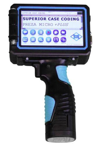 Portable Handheld Inkjet Printer Gun Date Coder Coding Machine Ink Included USA