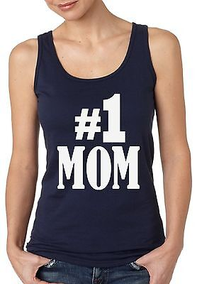 Number 1 Mom Tank Tops Gift for Best Mom In The (Best Tank In The World)