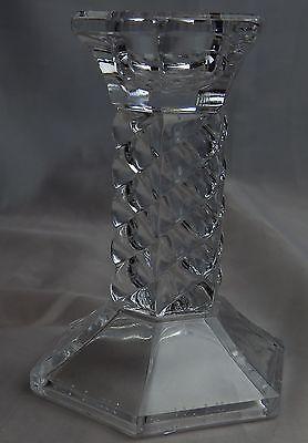Glas Kerzenständer 9cm hoch gebraucht gut erhalten