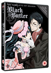 Black Butler Complete Series Box Set (DVD)