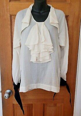 BERNHARD WILLHELM Ivory Top, size M