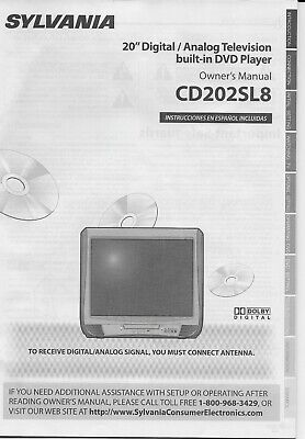 Sylvania CD202SL8 20