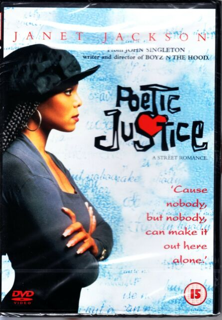POETIC JUSTICE - JANET JACKSON TUPAC SHAKUR DVD R4 NEW/SEALED