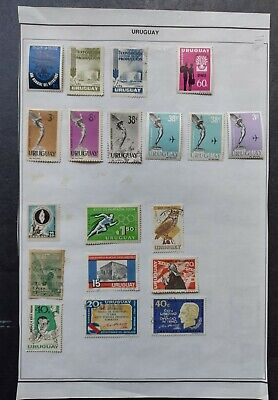 LATIN AMERICA - URAGUAY STAMPS • MINT & USED lot • AIRMAILS + 99c LOW START